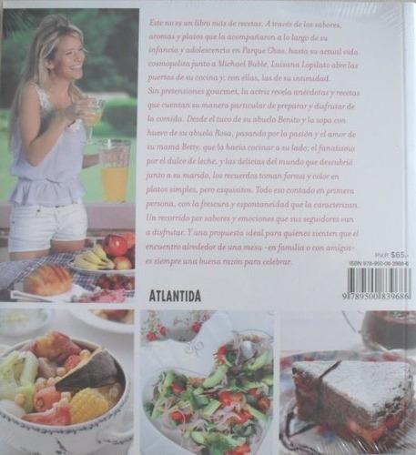 libro de cocina luisana en casa - mis comidas favoritas