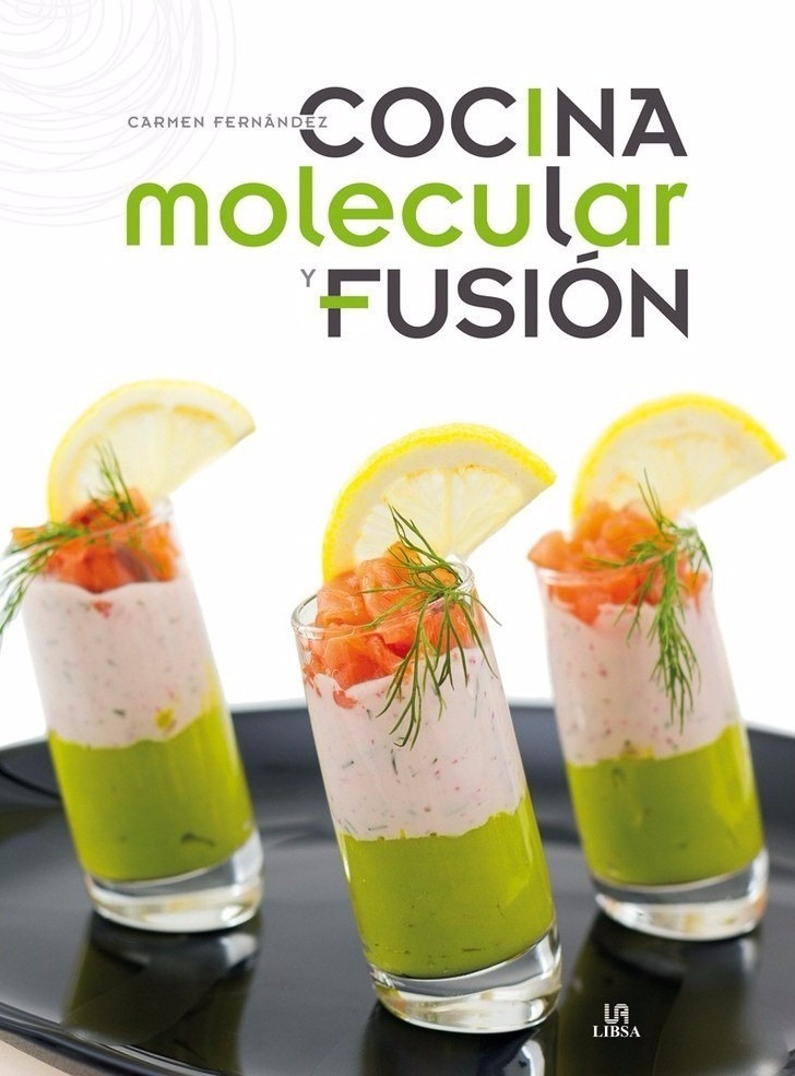libro de cocina molecular y fusion u s 31 00 en mercado