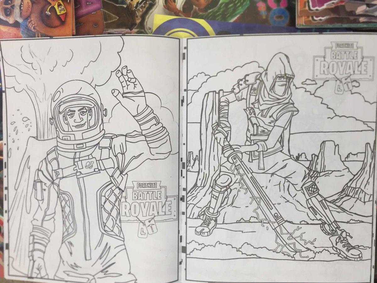 Libro De Colorear Fortnite Battle Royale 16 Pág Fiesta