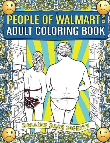 Libro De Colorear Para Adultos De La Gente De Walmart.com ...