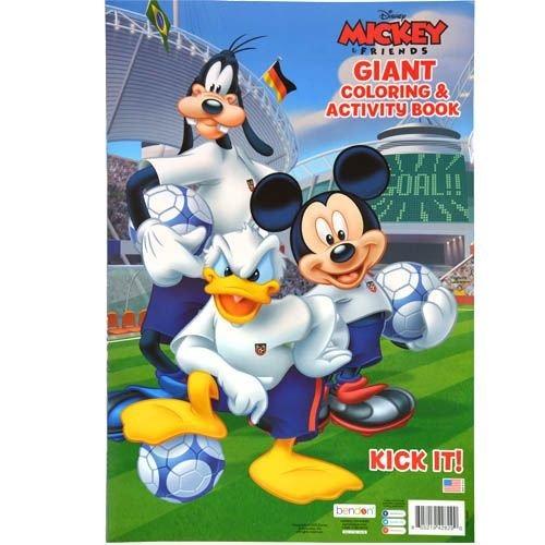 Libro De Colorear Y Actividad De Disney Mickey Mouse Y - $ 618.77 en ...