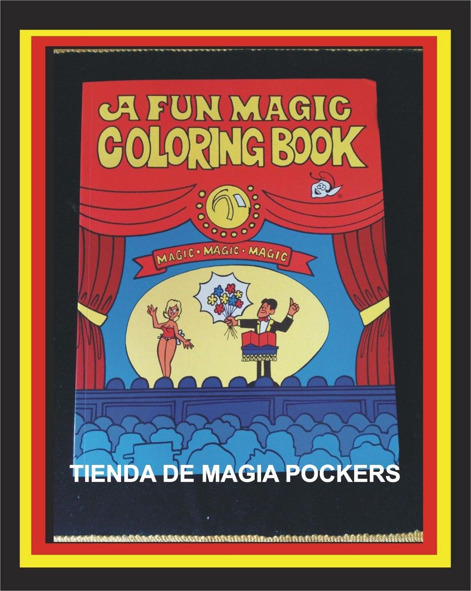 Hermosa Truco Mágico Del Libro Para Colorear Molde - Dibujos Para ...