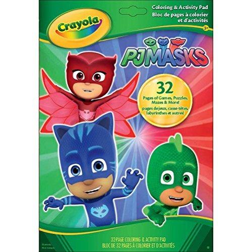 Libro De Colores Y Actividades Crayola Pj Masks - $ 520.77 en ...