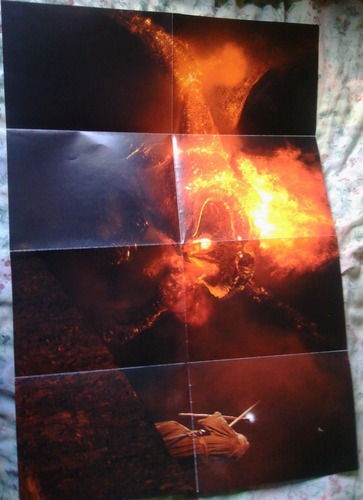 libro de como se hizo el señor de los anillos mas un afiche