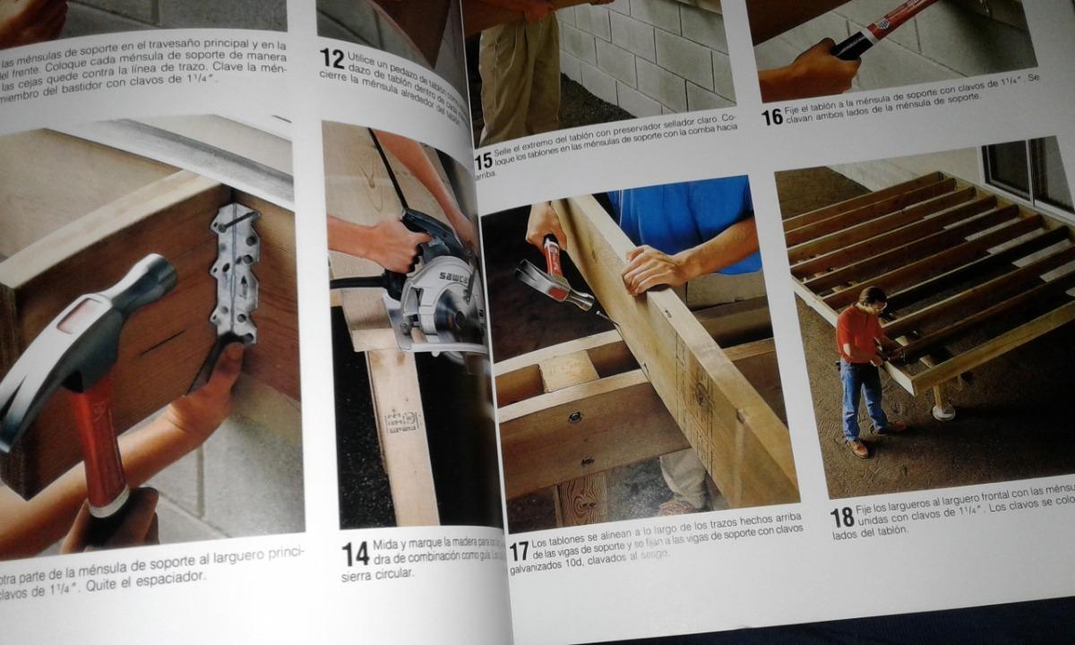 Libro De Contruccion De Terrazas De Madera Y Reparaciones