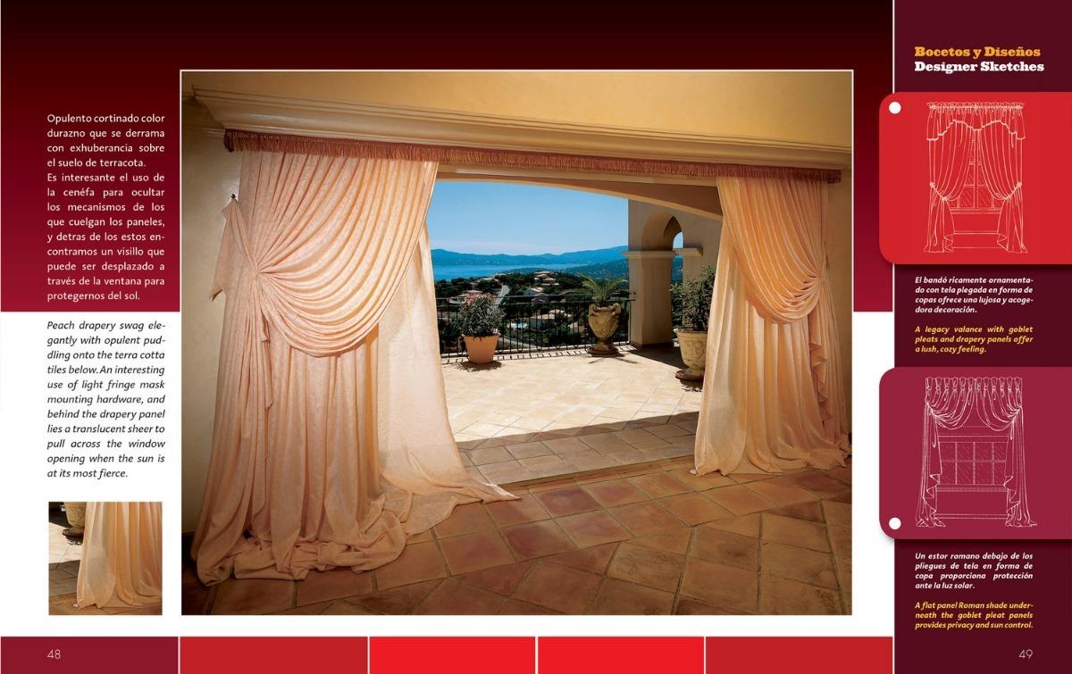 Libro de cortinas decoraci n de interiores en - Libros de decoracion de interiores ...