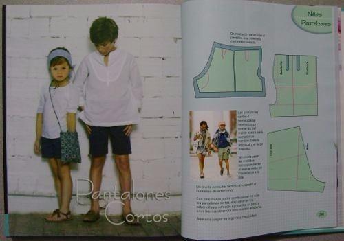libro de costura de diseño corte y confección