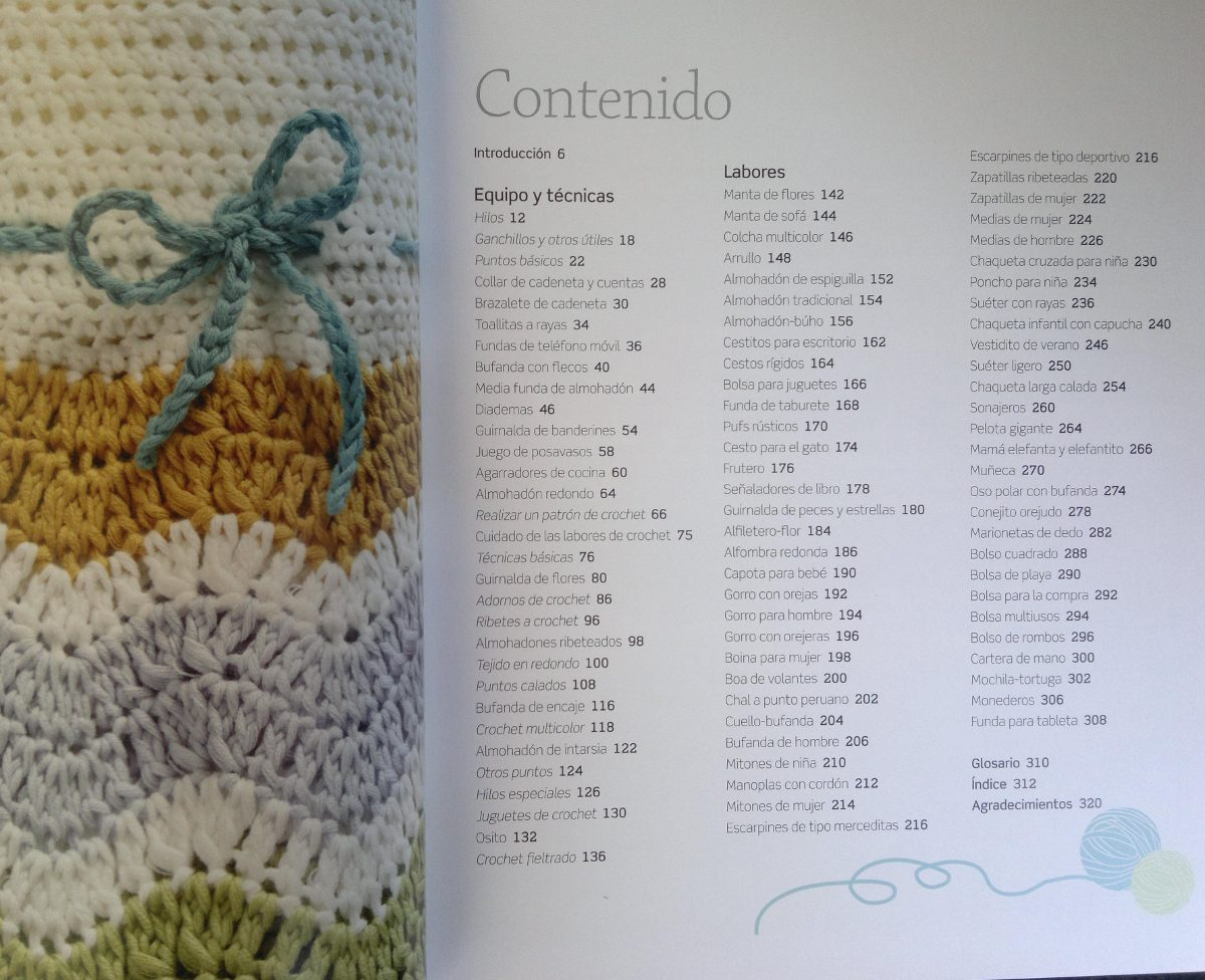 Libro De Crochet Con Tecnicas Y Proyectos - $ 1.250,00 en Mercado Libre