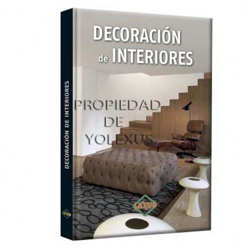 libro de decoración de interiores