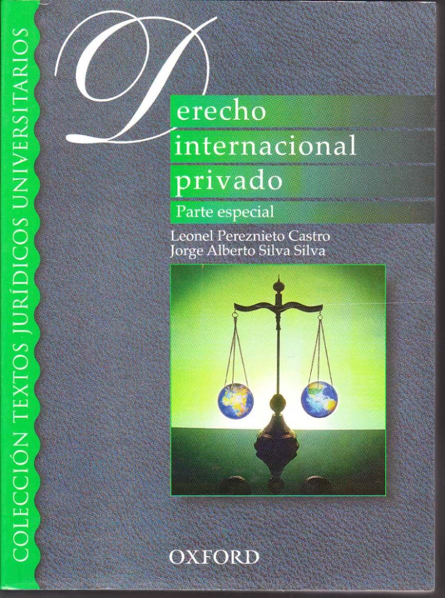 Libro De Derecho Internacional Privado Parte Especial