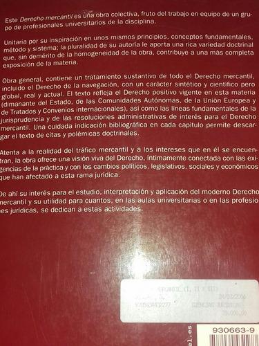 libro de derecho mercantil.