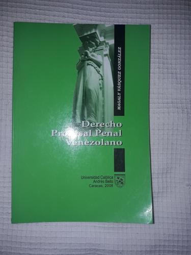 libro de derecho procesal penal venezolano ( 5 verdes)