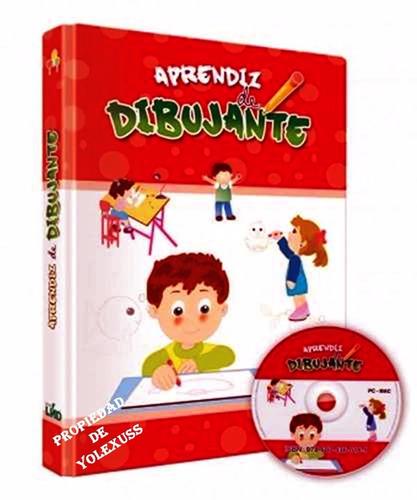 libro de dibujo aprendiz de dibujante 1 vol +1 cd-rom