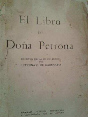 libro de doña petrona n 20