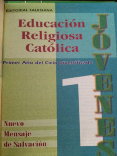 libro de  educacion religiosa