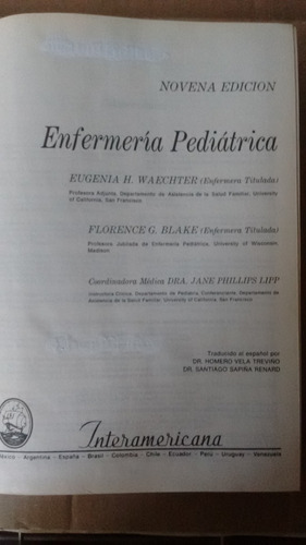 libro de enfermeria pediatrica
