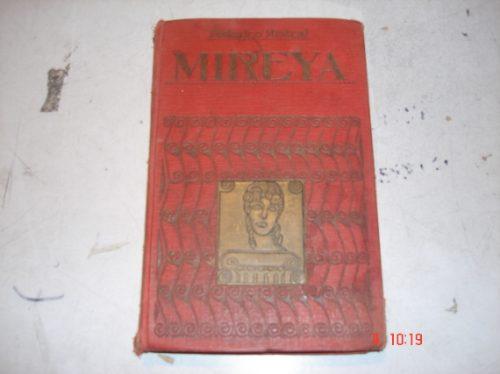 libro de federico mistral  mireya  de 1916