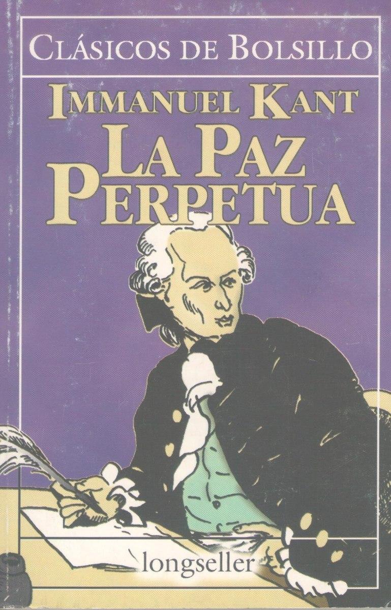 Libro De Filosofa La Paz Perpetua 150pg Immanuel Kant
