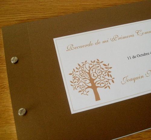 libro de firmas primera comunión recuerdo entrega en 2 días
