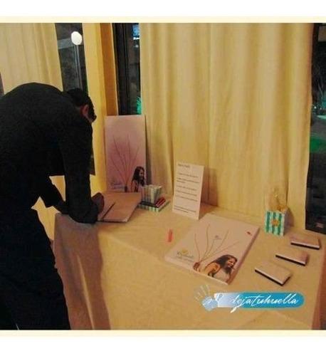 libro de firmas y dedicatorias bodas