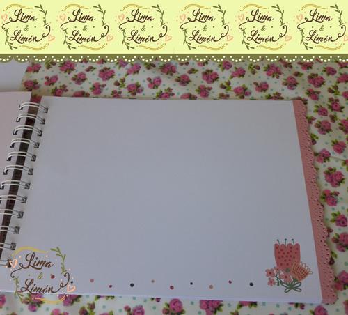 libro de firmas/deseos/fotos para comunión personalizados
