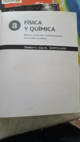 libro de física y química, santillana 3 año