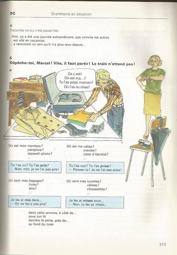 libro de francés nivel medio. on y va leçons 1-12.