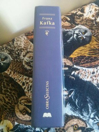 libro de frank kafka obras selectas pasta dura