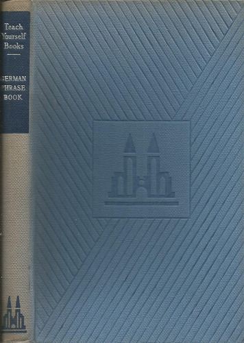 libro de frases del idioma alemán. en inglés. tys.