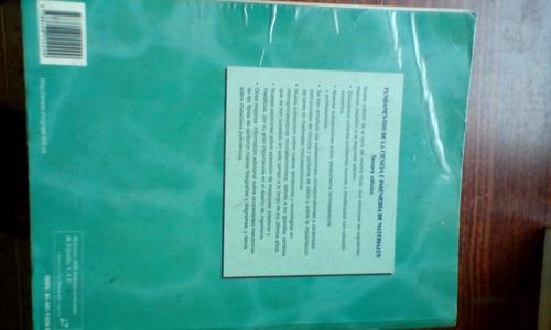 libro de fundamentos de ciencia e ingeniería de materiales