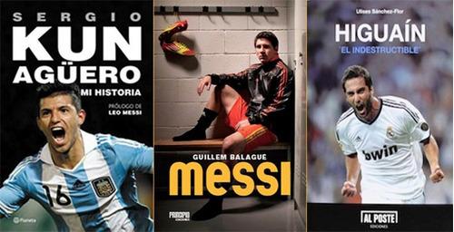 libro de fútbol: combo delantera selección
