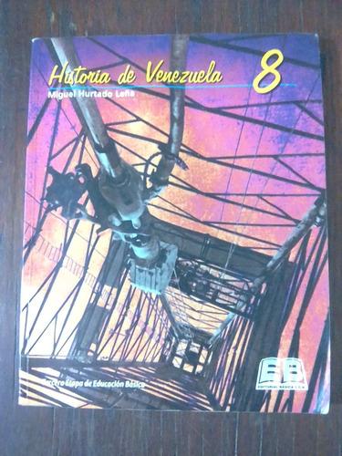 libro de historia de venezuela 8vo grado