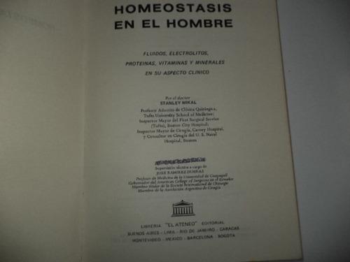 libro de homeostasis en el hombre