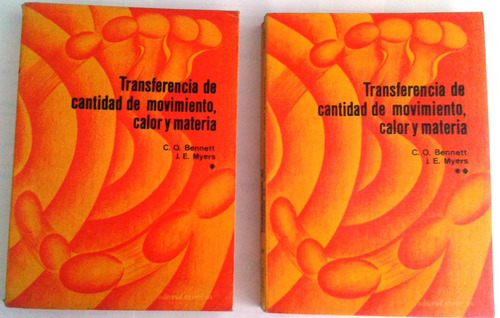 libro de ingenieria quimica bennett & myers