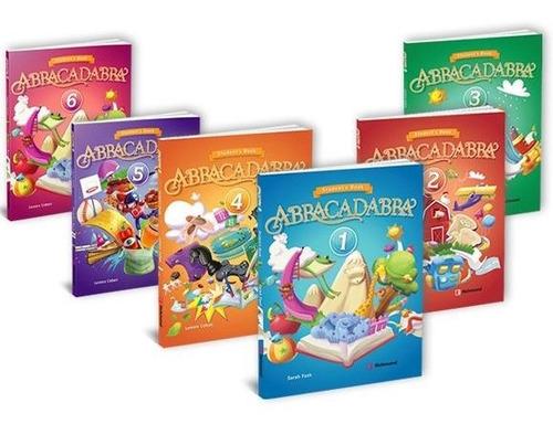 libro de ingles abracadabra   1,2,3,4,5 y  6 richmond