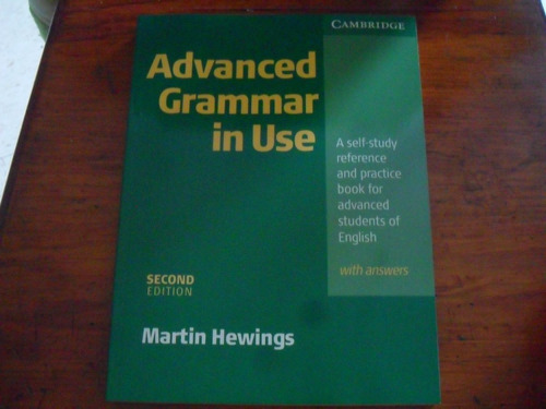 libro de inglés advanced grammar in use nuevo