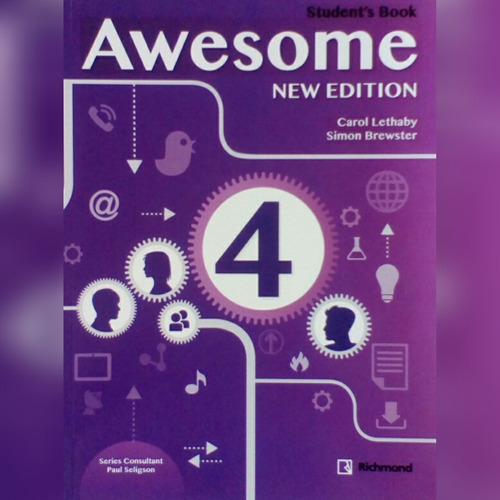 libro de ingles awesome students book 4 richmont santillana
