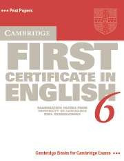 libro de inglés first certificate in english 6