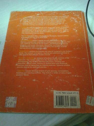 libro de ingles goal 8 grado