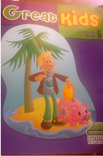 libro de ingles great kids student´s book 6