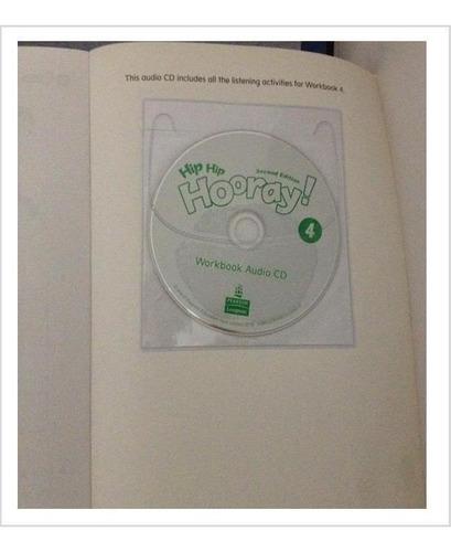 libro de inglés hip hip hooray 4 con cd