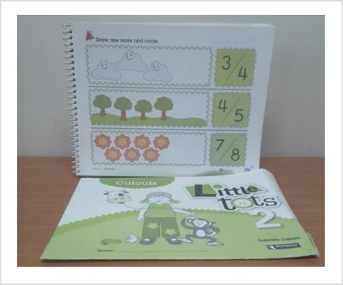 libro de ingles little tots 2 incluye cutots