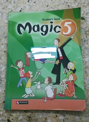 libro de inglés magic 5 grado