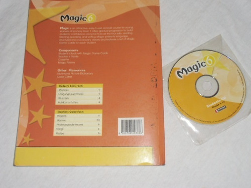 libro de ingles magic 6 editorial richmond con cd //15$//