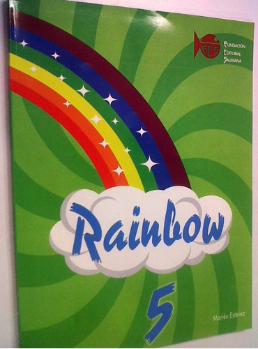 libro de ingles rainbow editorial salesiana nuevo