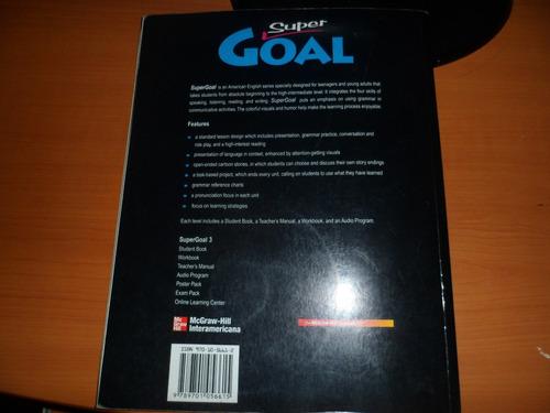 libro de ingles super goal 3