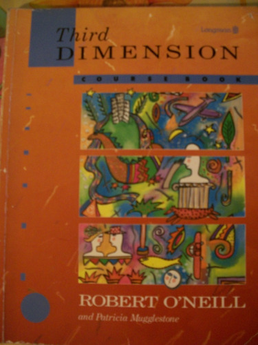 libro de ingles third dimension - robert  o´neill - longman