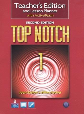libro de inglés top notch /summit teacher (2nd) edition