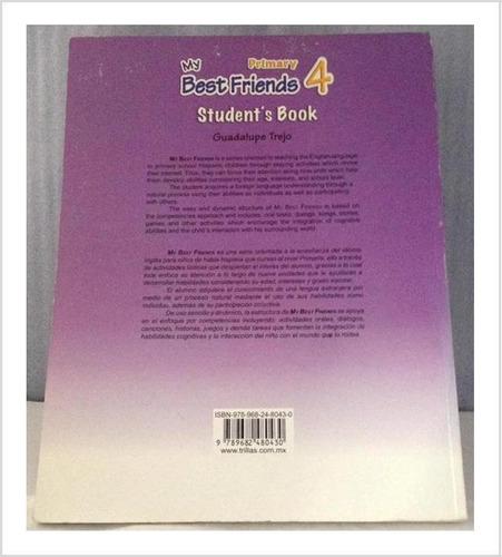 libro de inglés trillas my best friends 4 con cd