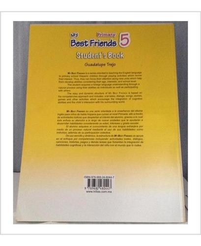 libro de inglés trillas my best friends 5 con cd